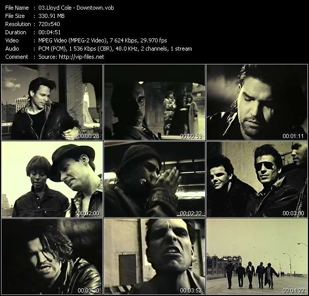 Lloyd Cole Video Clip(VOB) vob