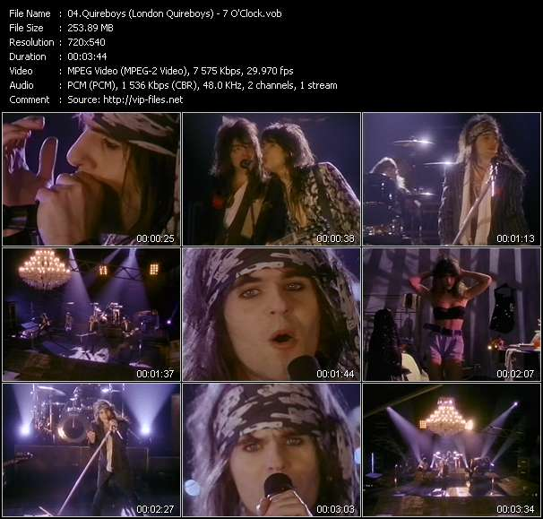 Quireboys (London Quireboys) Video Clip(VOB) vob