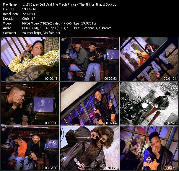 Dj Jazzy Jeff And The Fresh Prince Video Clip(VOB) vob