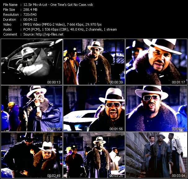 Sir Mix-A-Lot Video Clip(VOB) vob