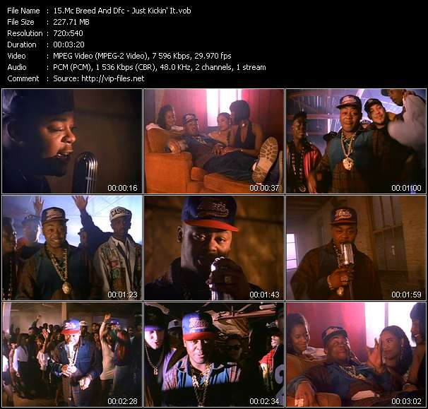 Mc Breed And Dfc Video Clip(VOB) vob