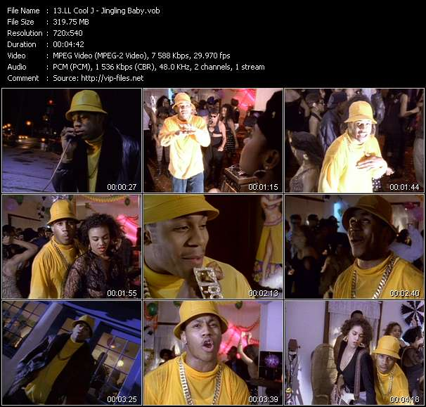 LL Cool J Video Clip(VOB) vob