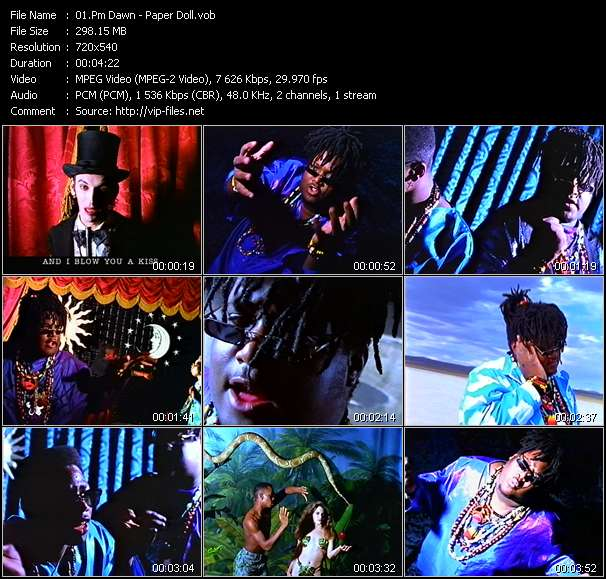 Pm Dawn Video Clip(VOB) vob
