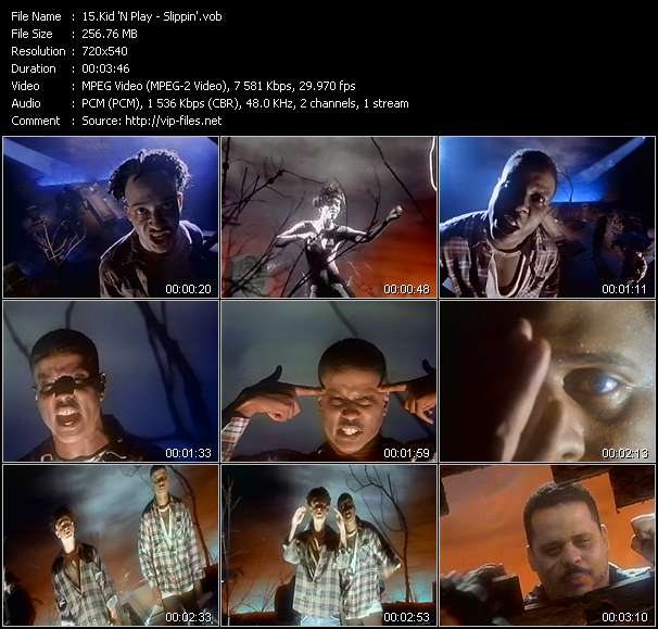 Kid 'N Play Video Clip(VOB) vob