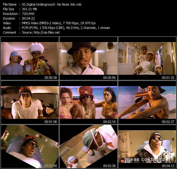 Digital Underground Video Clip(VOB) vob