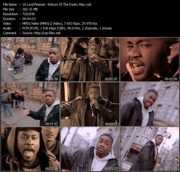 Lord Finesse Video Clip(VOB) vob