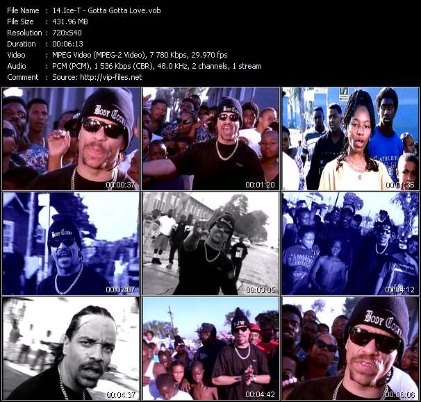 Ice-T Video Clip(VOB) vob