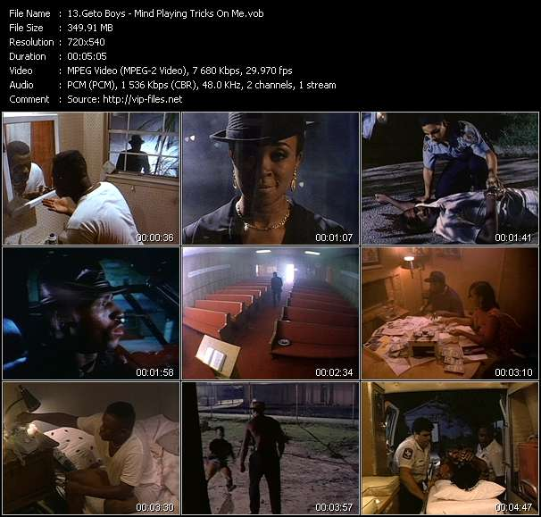 Geto Boys Video Clip(VOB) vob