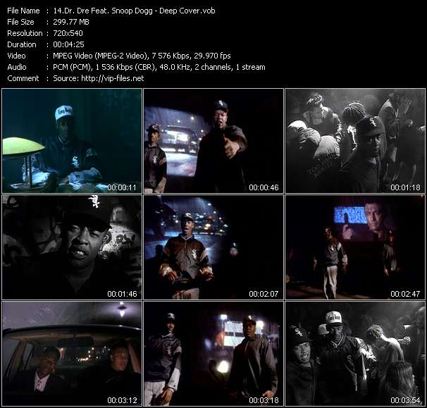 Dr. Dre Feat. Snoop Dogg Video Clip(VOB) vob