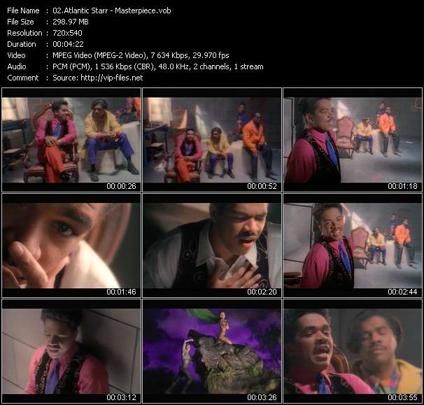 Atlantic Starr Video Clip(VOB) vob