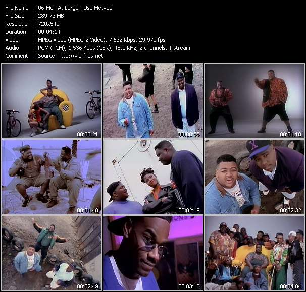 Men At Large Video Clip(VOB) vob