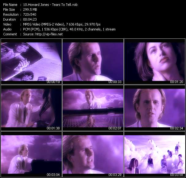 Howard Jones Video Clip(VOB) vob