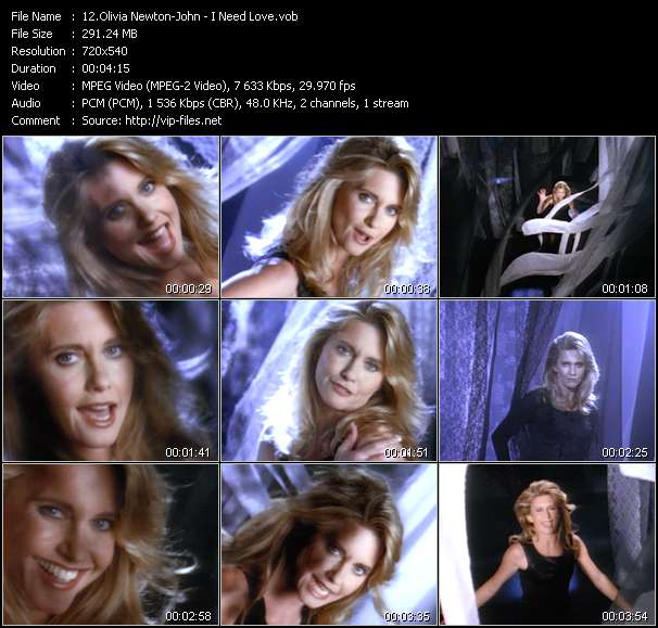 Olivia Newton-John Video Clip(VOB) vob