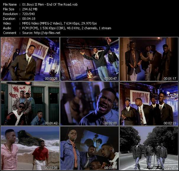 Boyz II Men Video Clip(VOB) vob