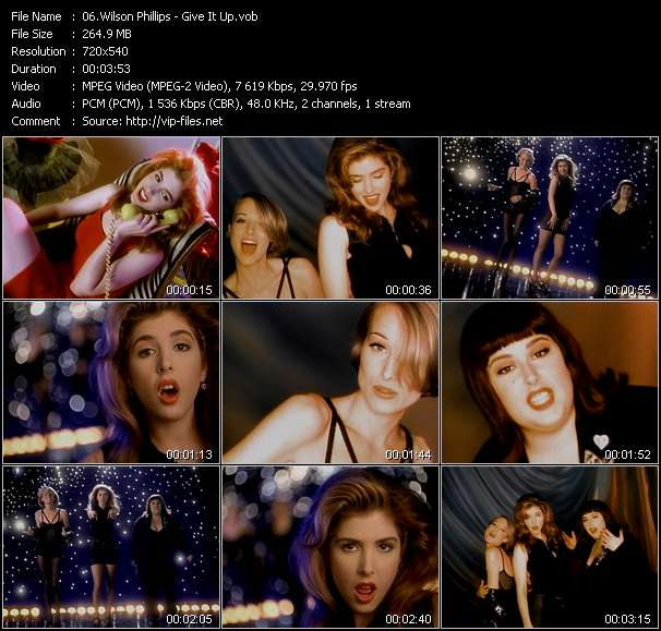 Wilson Phillips Video Clip(VOB) vob