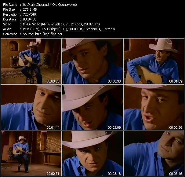 Mark Chesnutt Video Clip(VOB) vob