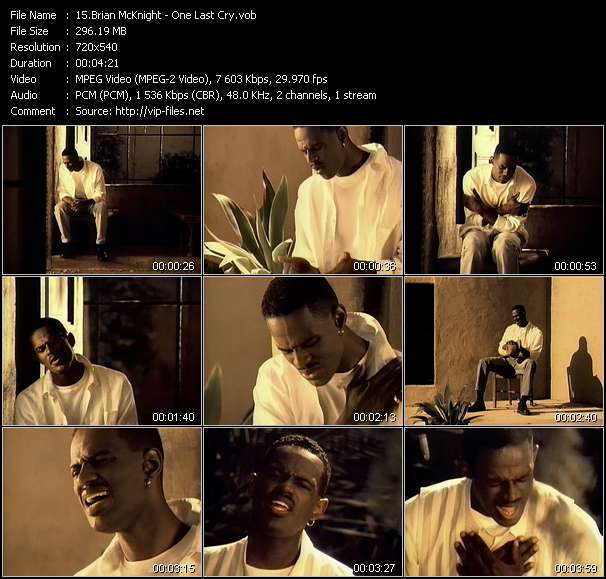 Brian McKnight Video Clip(VOB) vob