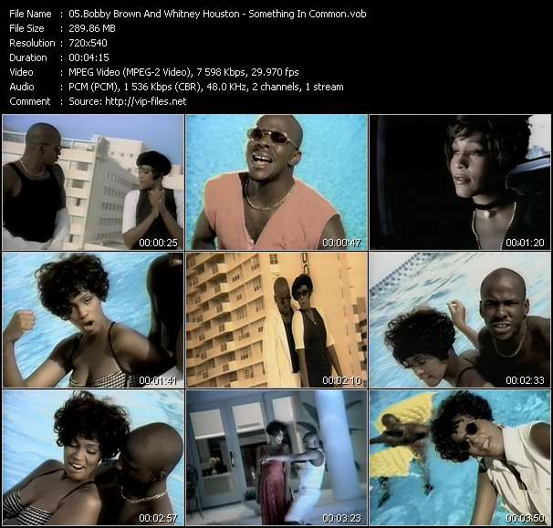 Bobby Brown And Whitney Houston Video Clip(VOB) vob