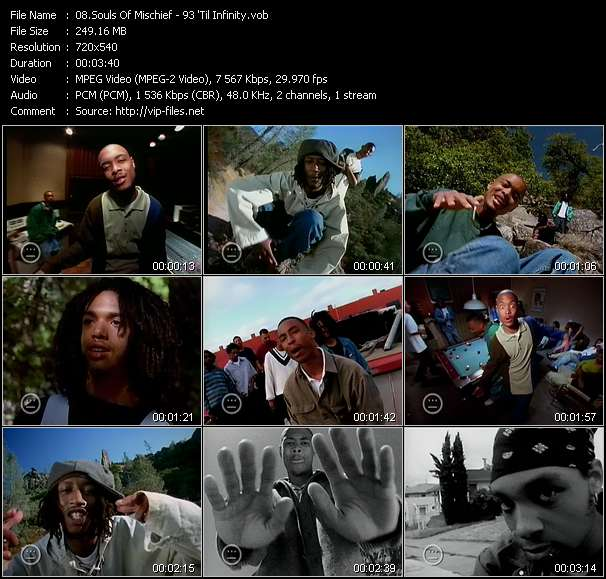 Souls Of Mischief Video Clip(VOB) vob