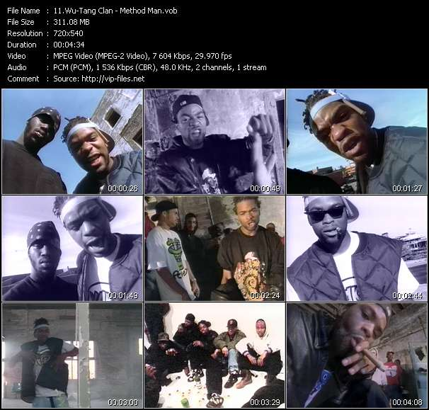 Wu-Tang Clan Video Clip(VOB) vob