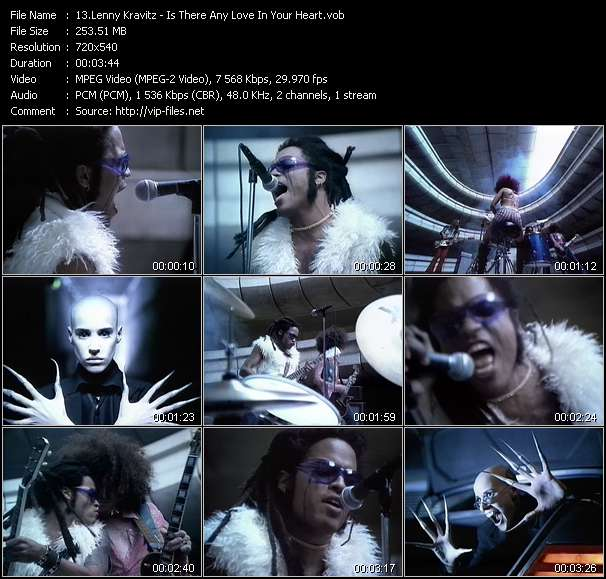 Lenny Kravitz Video Clip(VOB) vob