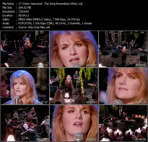 Trisha Yearwood Video Clip(VOB) vob