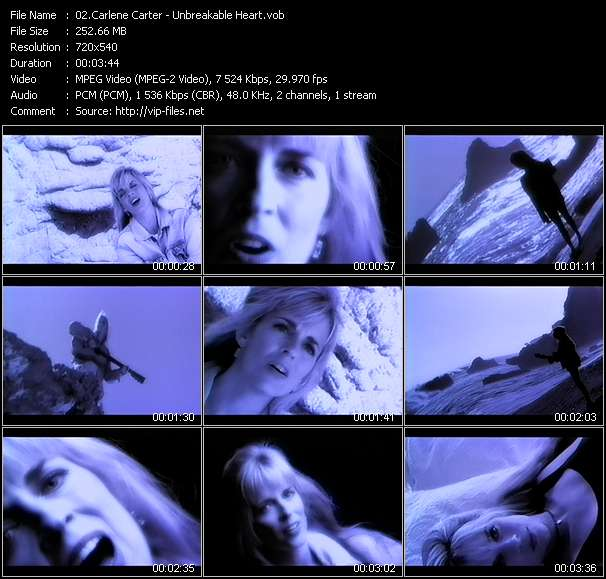Carlene Carter Video Clip(VOB) vob