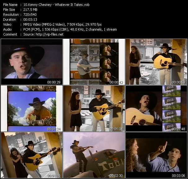 Kenny Chesney Video Clip(VOB) vob