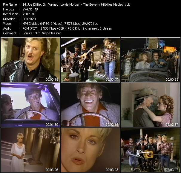 Joe Diffie, Jim Varney, Lorrie Morgan Video Clip(VOB) vob