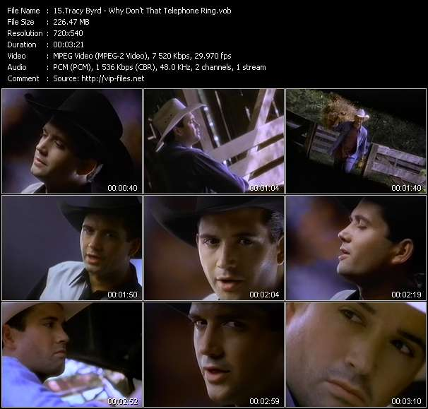 Tracy Byrd Video Clip(VOB) vob