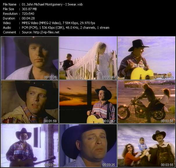 John Michael Montgomery Video Clip(VOB) vob