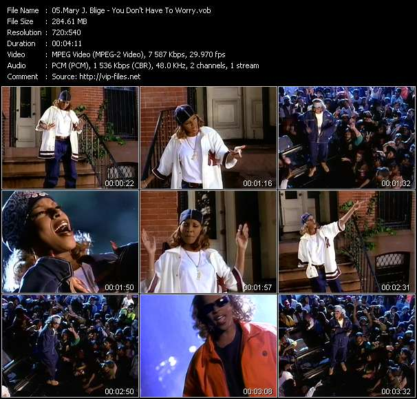 Mary J. Blige Video Clip(VOB) vob