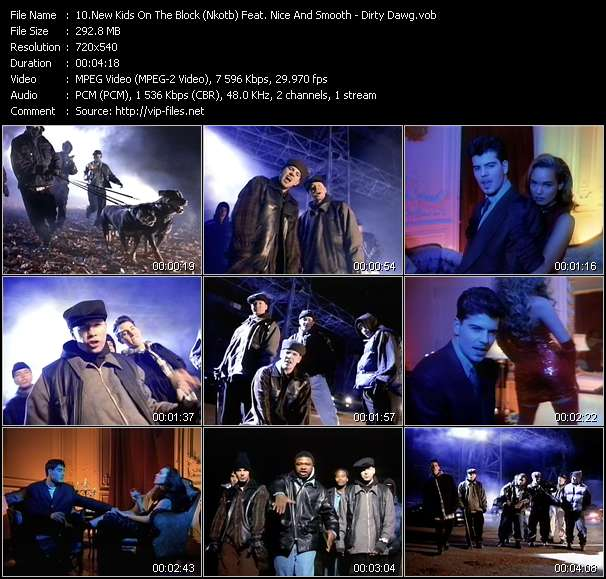New Kids On The Block (Nkotb) Feat. Nice And Smooth Video Clip(VOB) vob