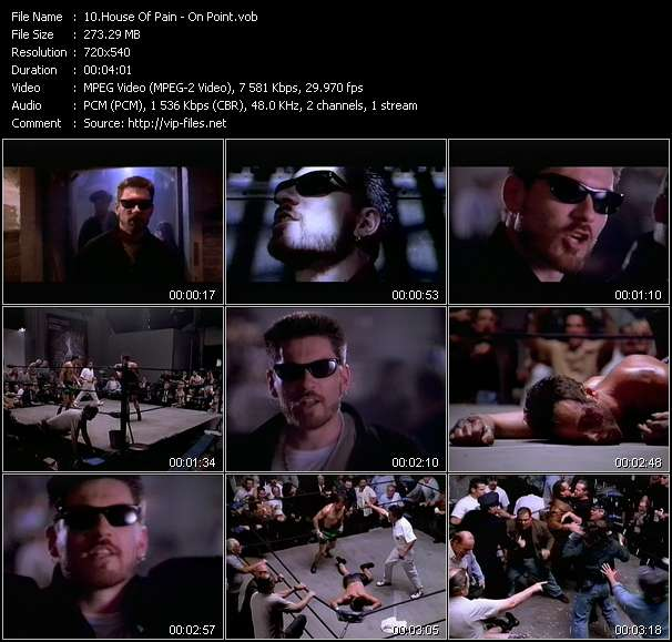 House Of Pain Video Clip(VOB) vob