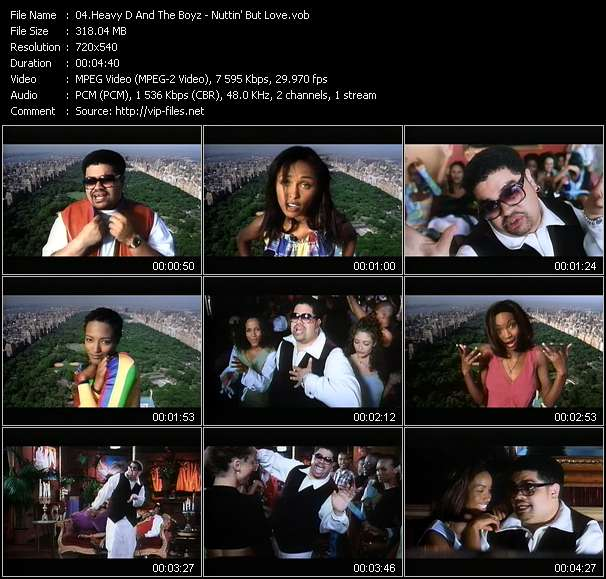 Heavy D And The Boyz Video Clip(VOB) vob