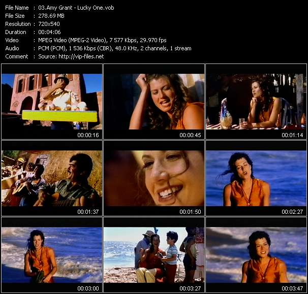 Amy Grant Video Clip(VOB) vob