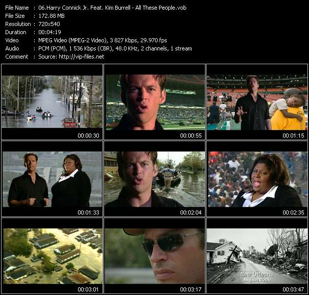 Harry Connick Jr. Feat. Kim Burrell Video Clip(VOB) vob