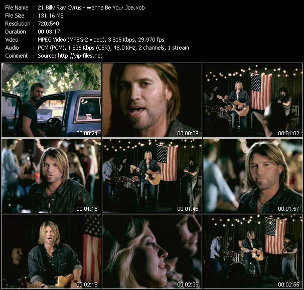 Billy Ray Cyrus Video Clip(VOB) vob