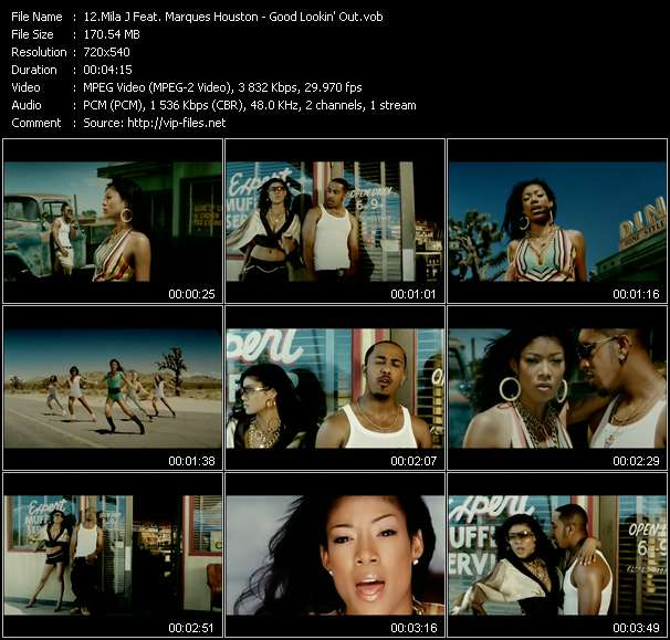 Mila J Feat. Marques Houston Video Clip(VOB) vob