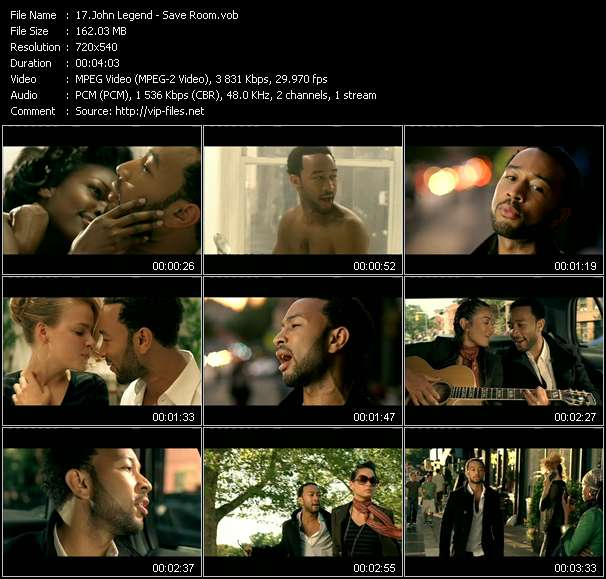 John Legend Video Clip(VOB) vob