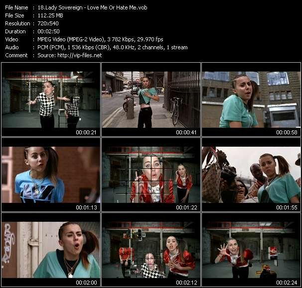 Lady Sovereign Video Clip(VOB) vob