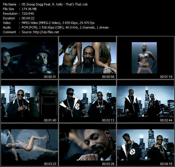 Snoop Dogg Feat. R. Kelly Video Clip(VOB) vob
