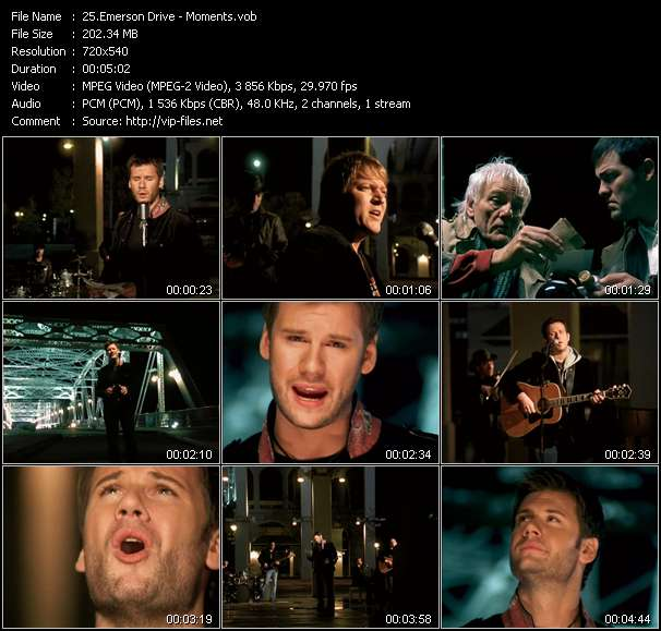 Emerson Drive Video Clip(VOB) vob