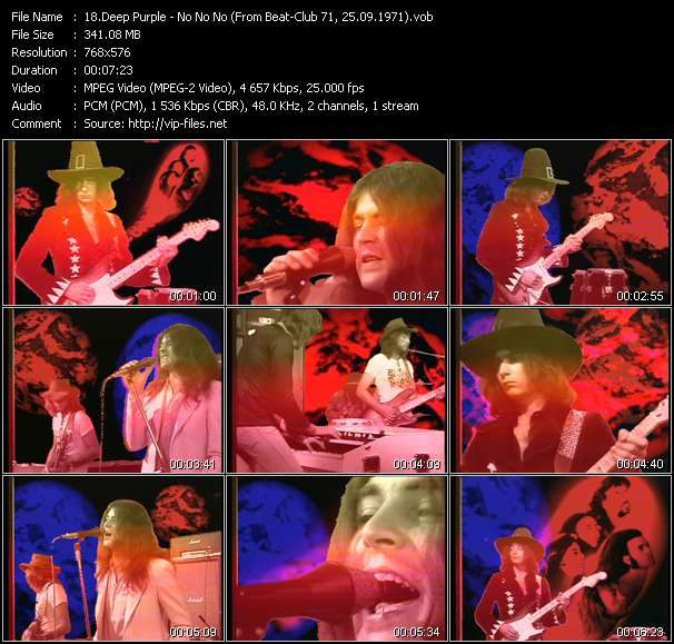 Deep Purple Video Clip(VOB) vob