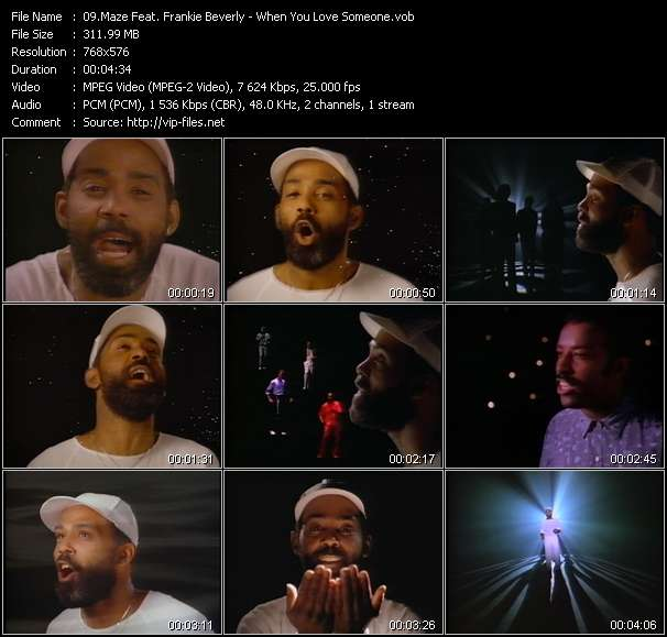 Maze Feat. Frankie Beverly Video Clip(VOB) vob
