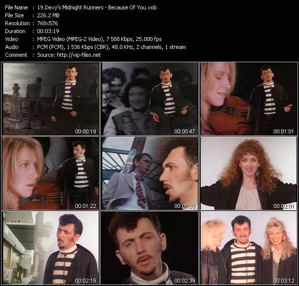 Dexy's Midnight Runners Video Clip(VOB) vob