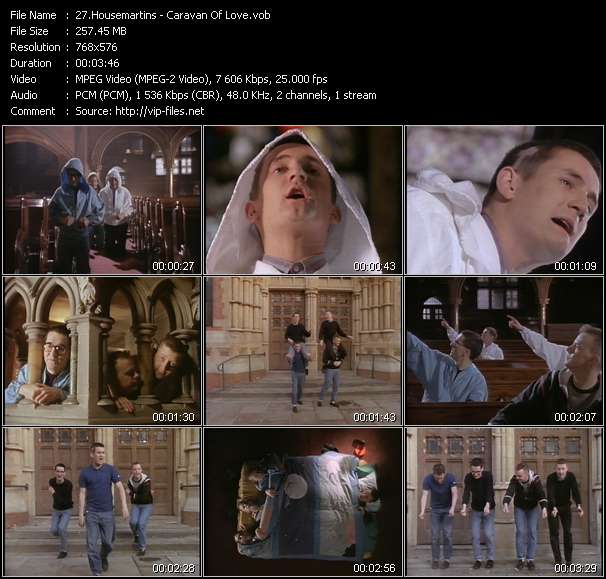 Housemartins Video Clip(VOB) vob
