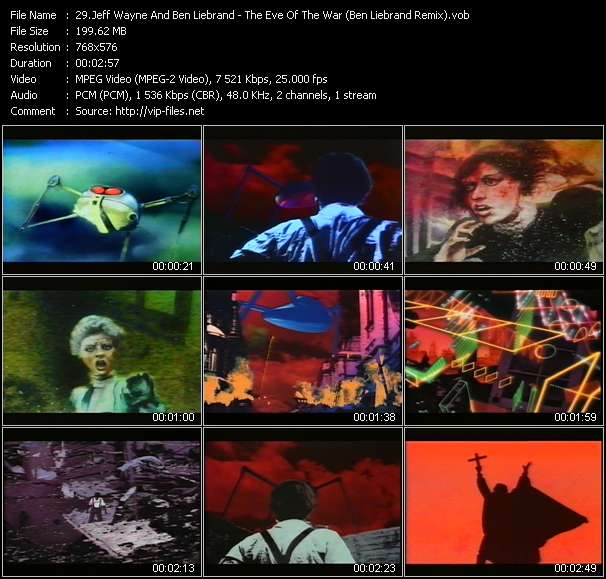 Jeff Wayne And Ben Liebrand Video Clip(VOB) vob