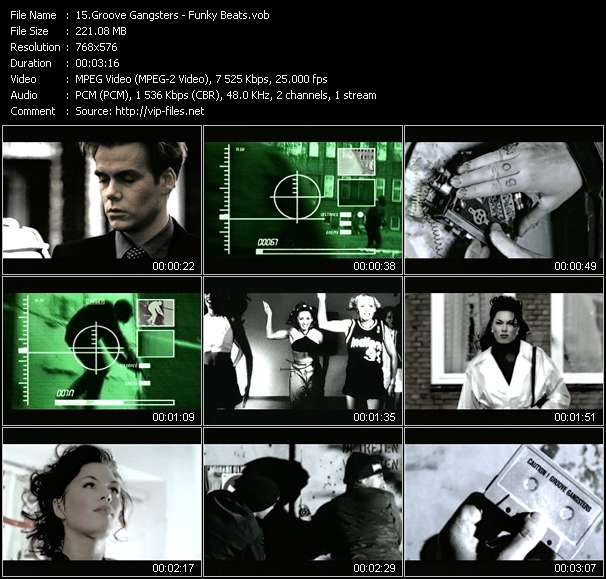 Groove Gangsters Video Clip(VOB) vob
