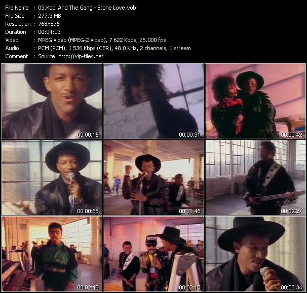 Kool And The Gang Video Clip(VOB) vob